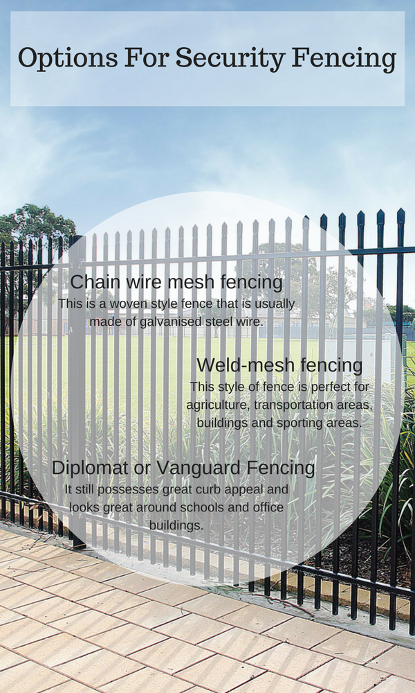 Options For Security Fencing