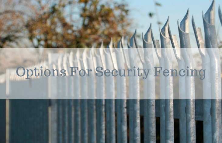 Options for Security Fencing for Your Home