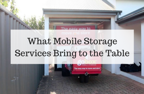 What Mobile Storage Services Bring to the Table